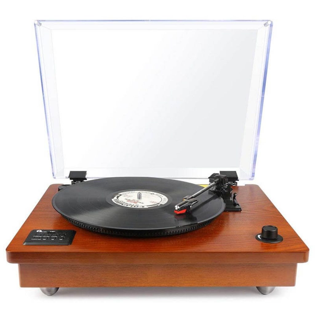 1byone Belt Driven Bluetooth Turntable Review