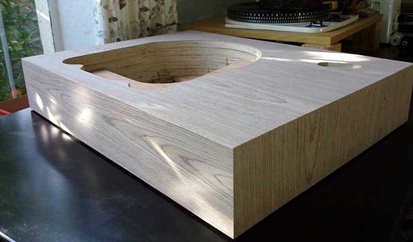 plinth of turntable